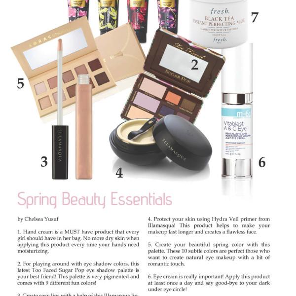 Spring Beauty Make Up Essentials