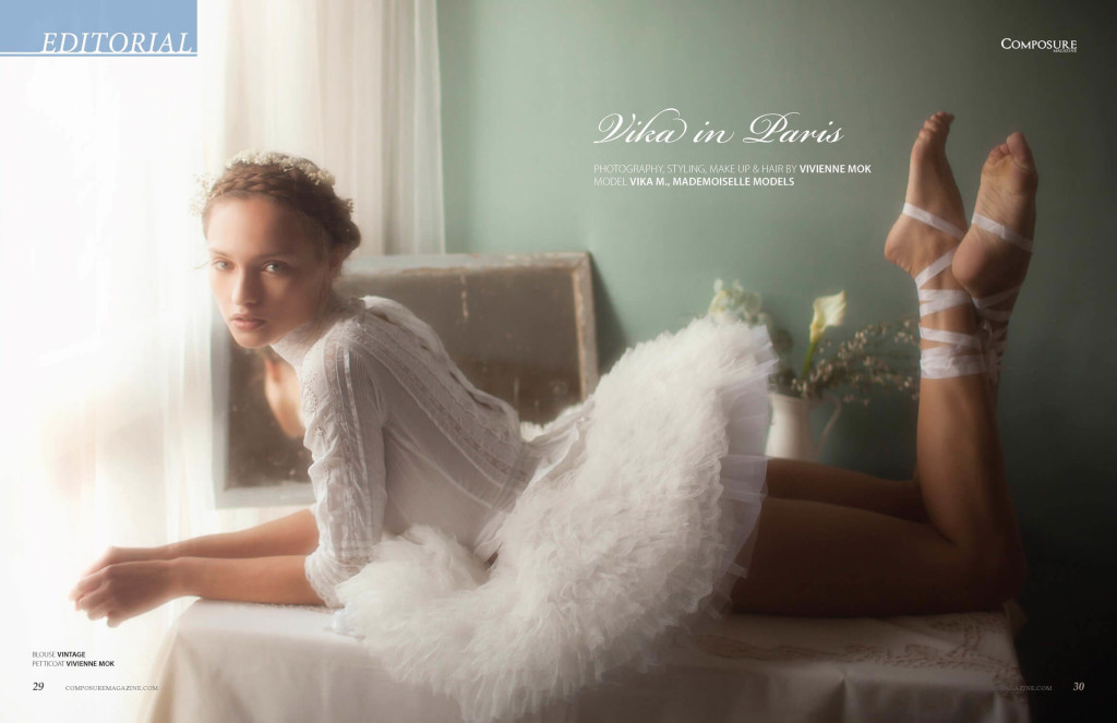 Fashion Editorial by Vivienne Mok for Composure Magazine