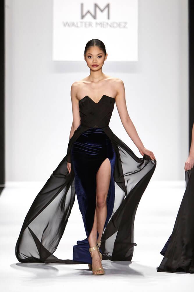 Fashion Designer Walter Mendez at NYFW15