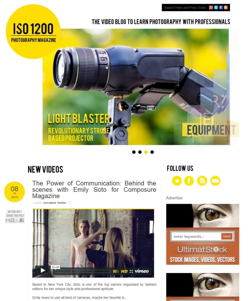 ISO1200 Photography Magazine