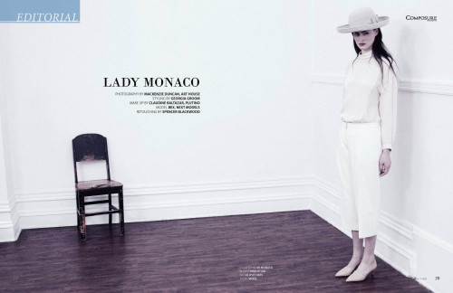 Fashion Editorial Lady Monaco by Mackenzie Duncan for Composure Magazine