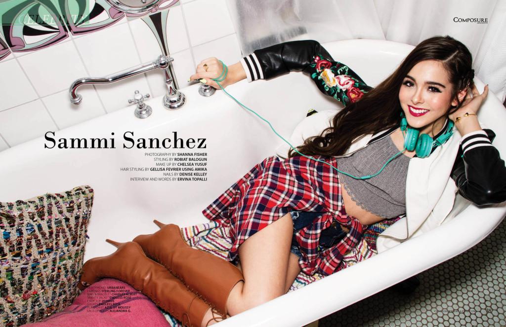 Sammi Sanchez for Composure Magazine