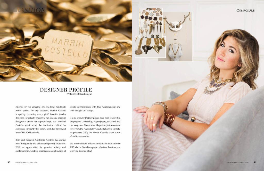 Designer Profile: Marrin Costello