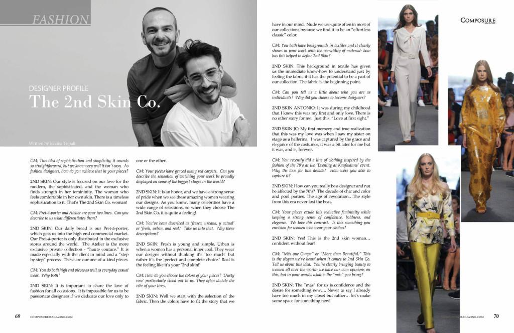 Designer Profile: The 2nd Skin Co.