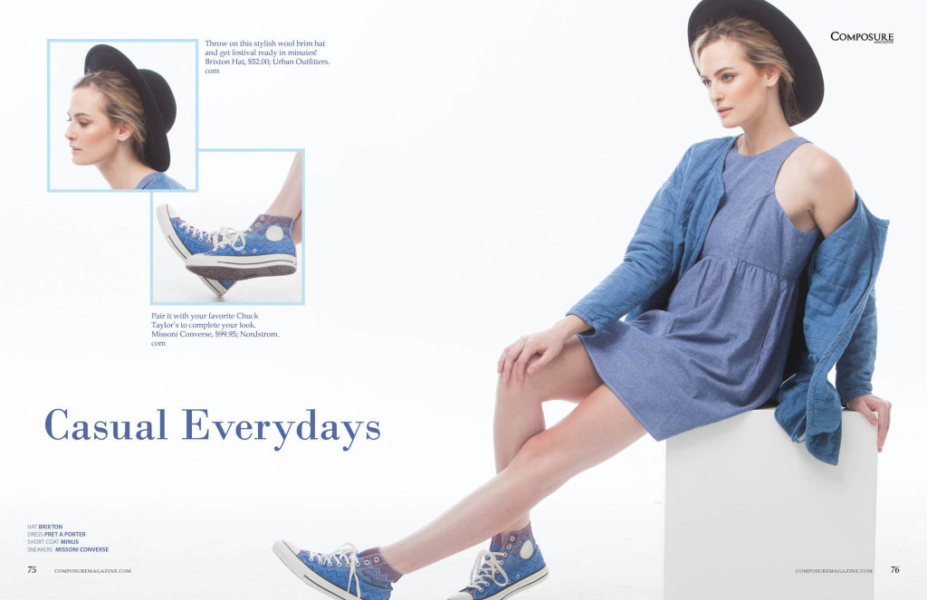 Fashion: The Blues Just Got Fun! Denim on denim look!