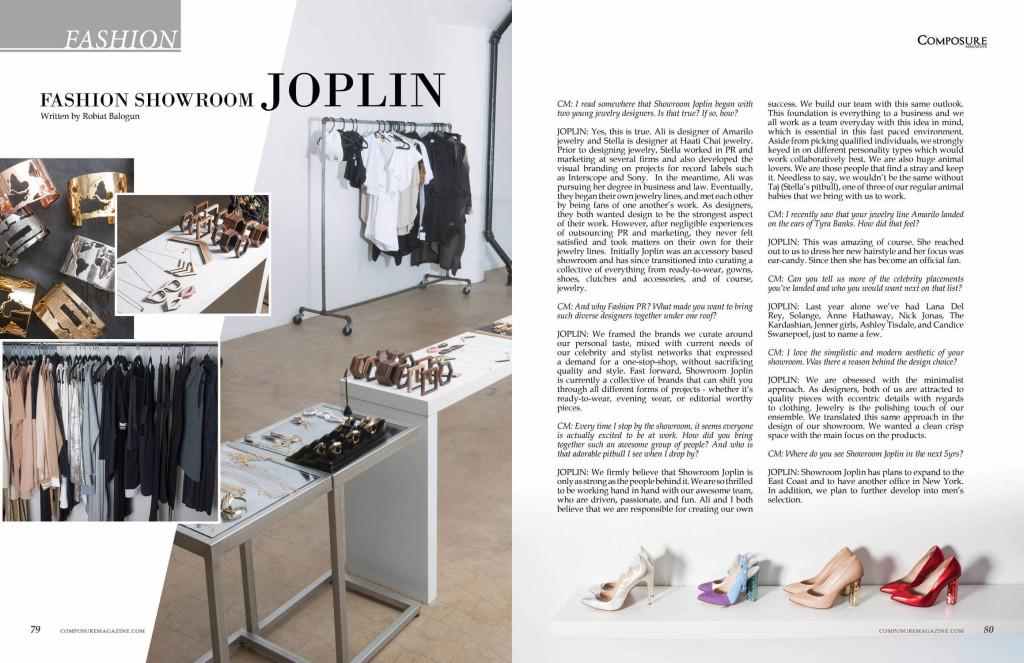 Fashion showroom Joplin