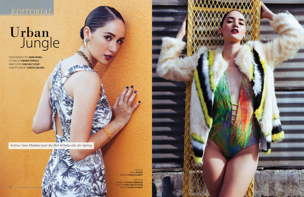 Fashion Editorial by John Hong for Composure Magazine
