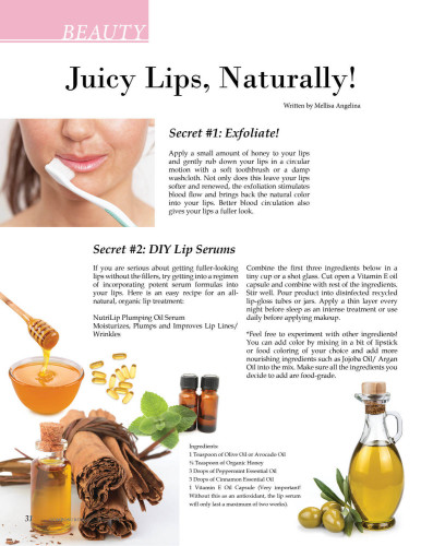 Composure Beauty: Juicy Lips, Naturally!