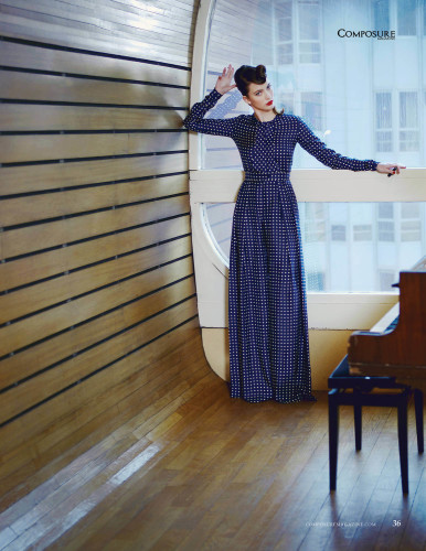 Fashion editorial by Claire Pathé for Composure Magazine