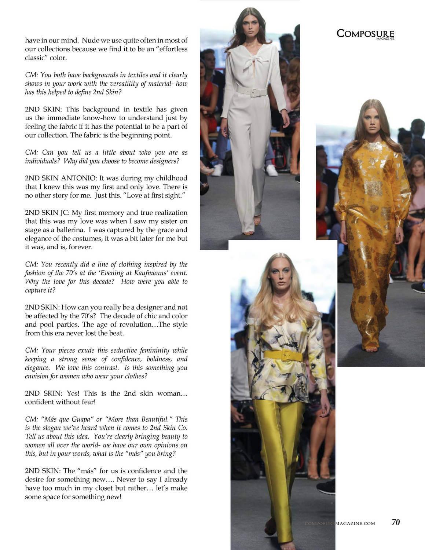 Fashion Designer Composure Magazine