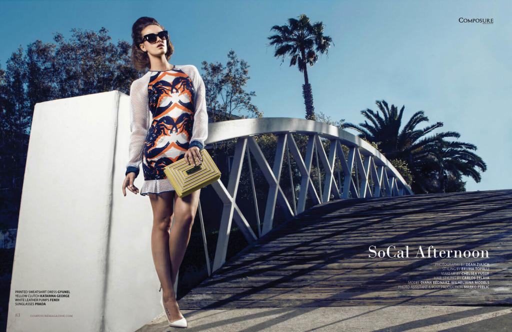 Fashion editorial by Dean Zulich.
