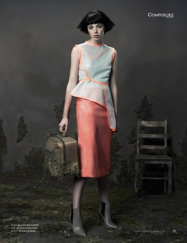 Fashion Editorial by photographer Paul Leonardo