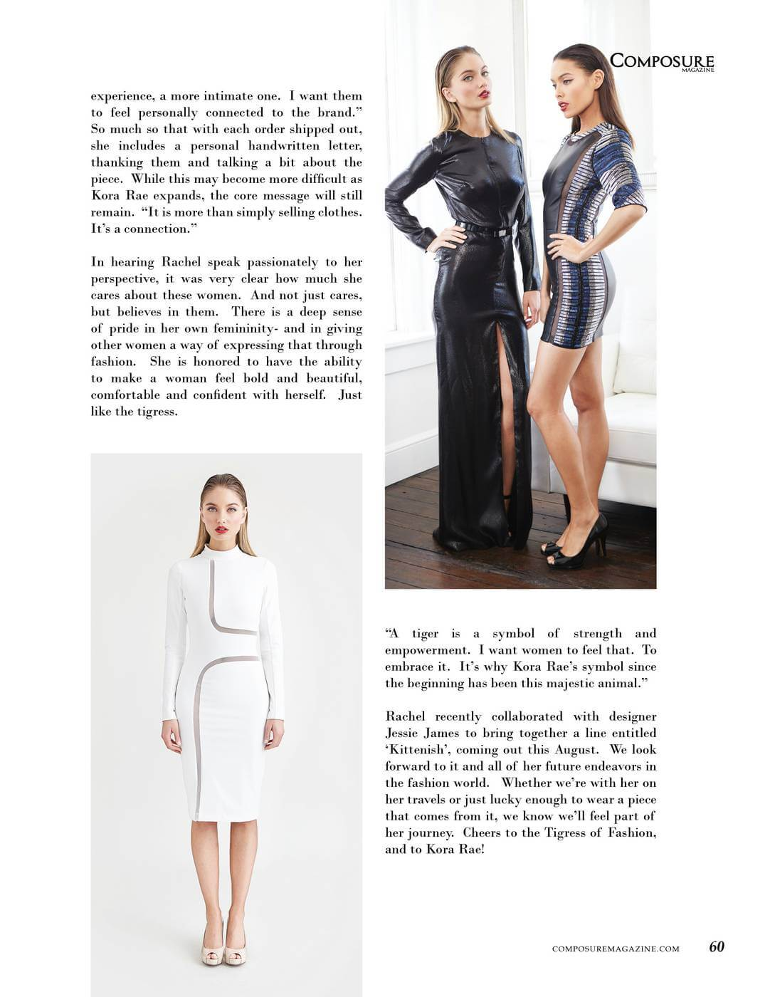 Fashion Designer Profile Rachel Turzer Of Kora Rae Composure Magazine