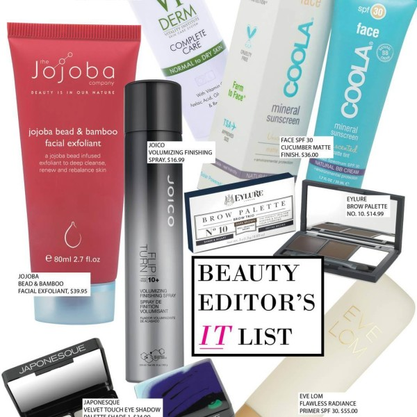 Beauty Editor's It List