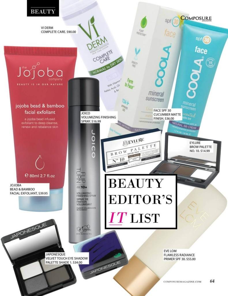 Beauty Editor's It List