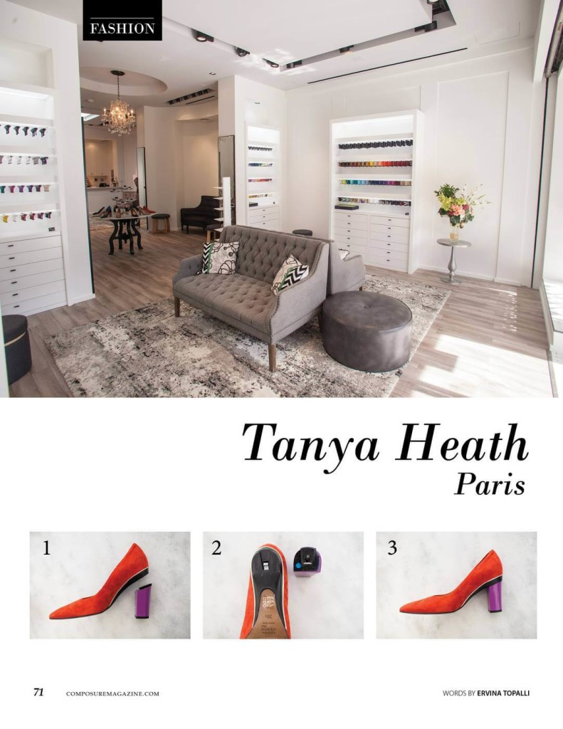 Tanya Heath Paris: A Footwear Revolution