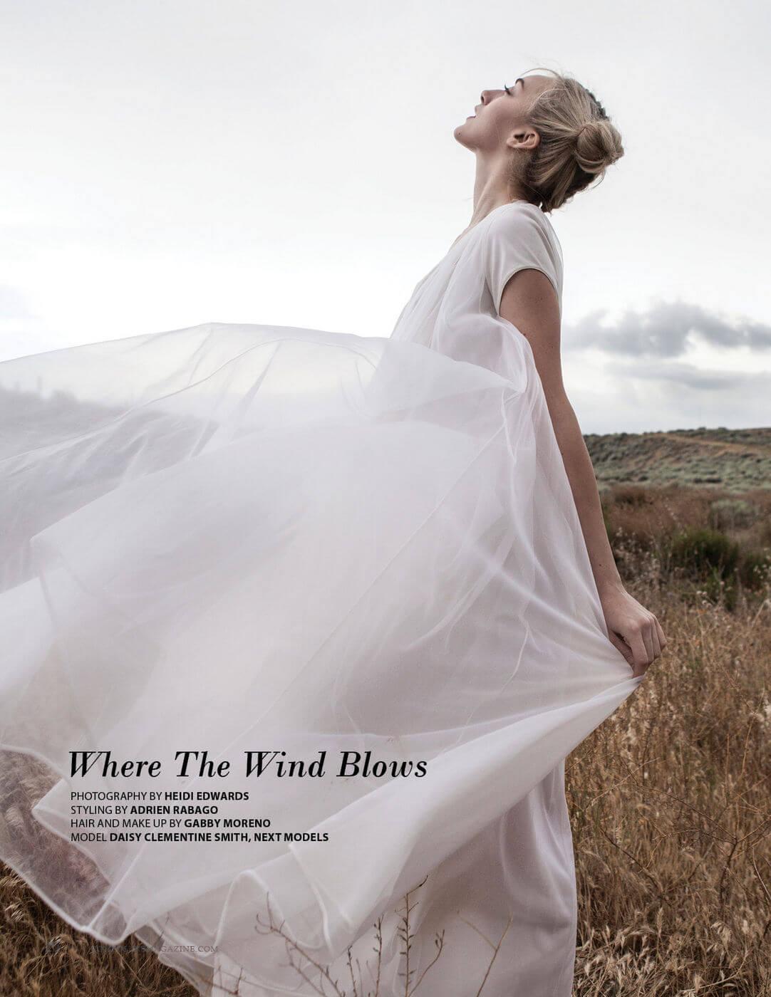 Fashion Editorial By Heidi Edwards Styling Adrian Rabago