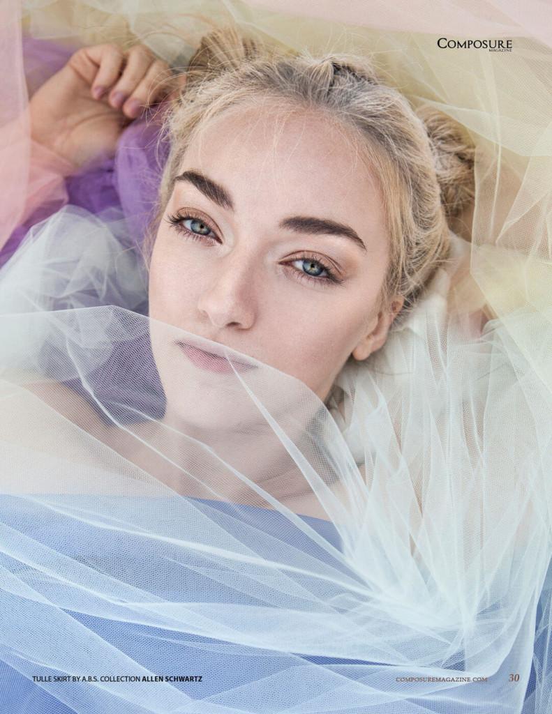 Fashion Editorial by Heidi Edwards.  Styling by Adrian Rabago.