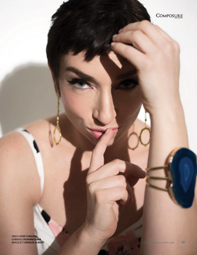 American Horror Story actress Naomi Grossman for Composure Magazine