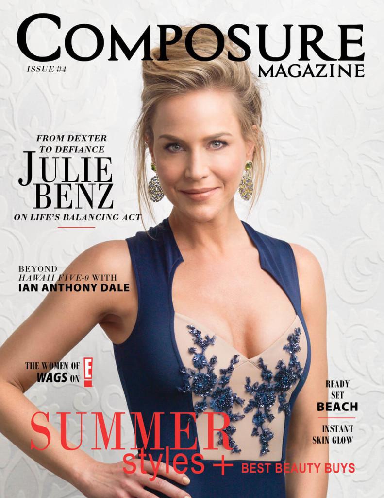 Julie Benz for Composure Magazine