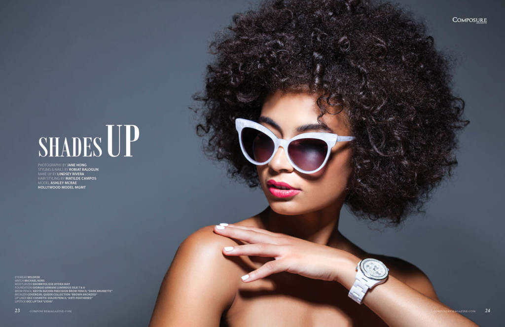 Beauty Editorial by Jane Hong