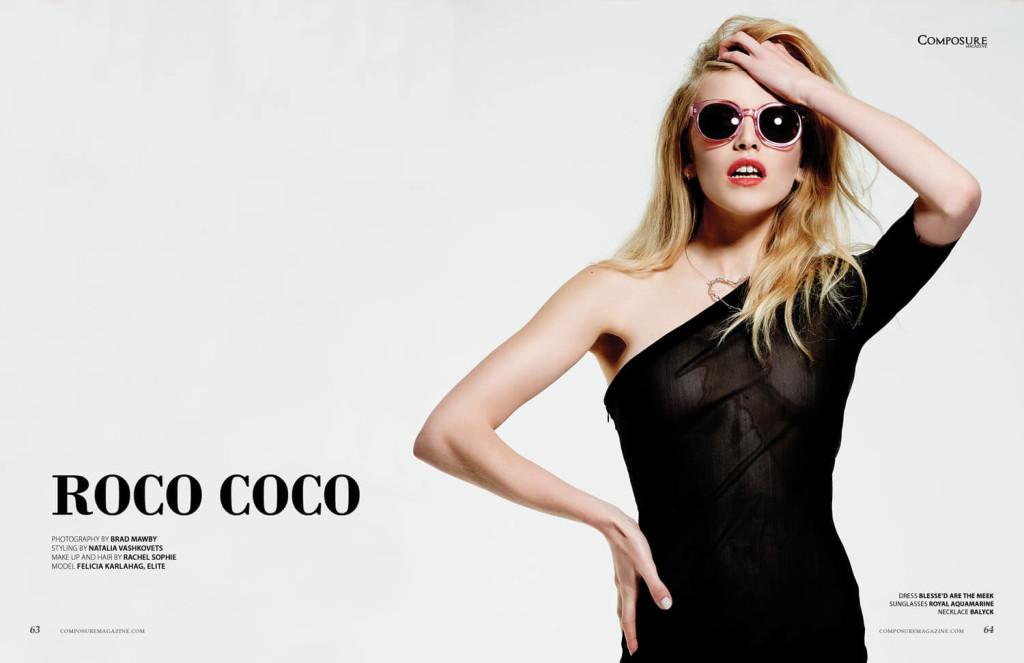 Fashion Editorial by Brad Mawby