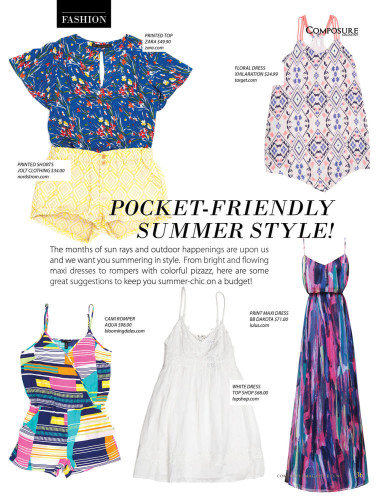Pocket-Friendly Summer Style!