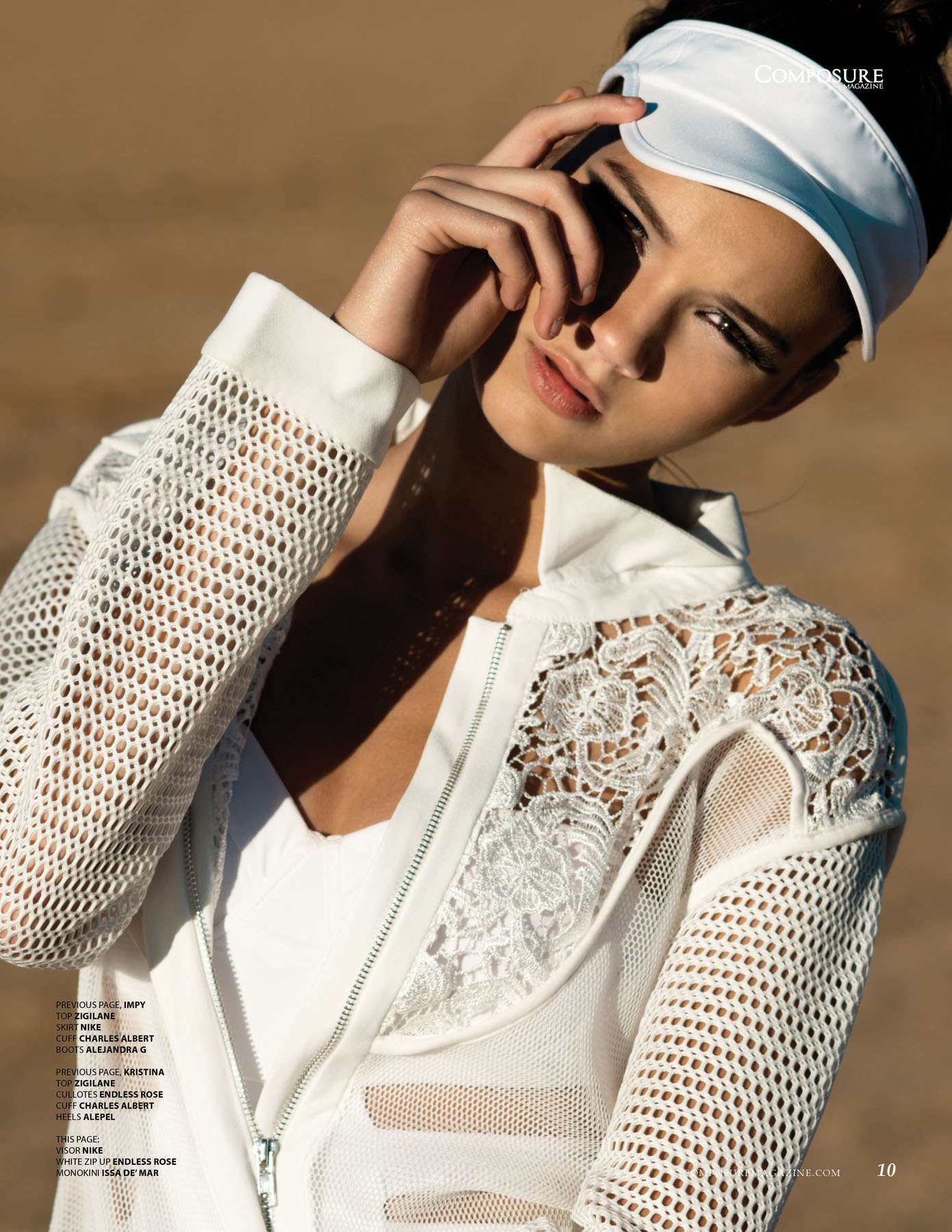 Athletic Desert Fashion Editorial by John Hong