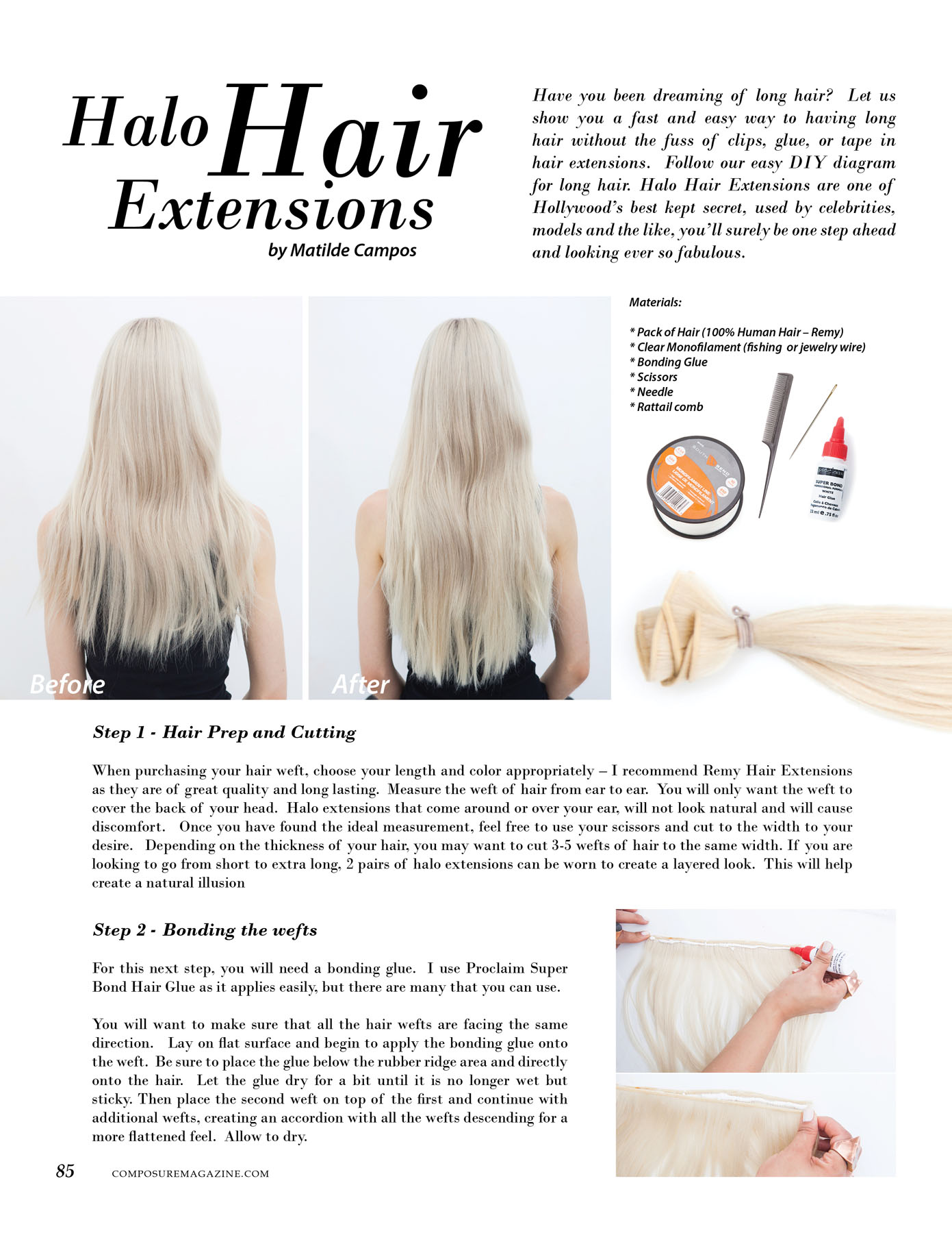 Beauty halo hair extensions composure magazine how to guide for halo hair extensions pmusecretfo Gallery