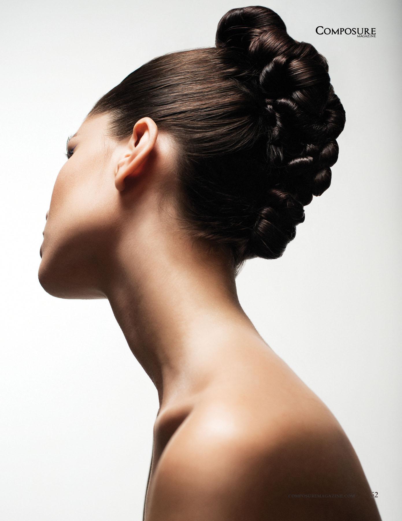 Beauty editorial photographed by john Hong