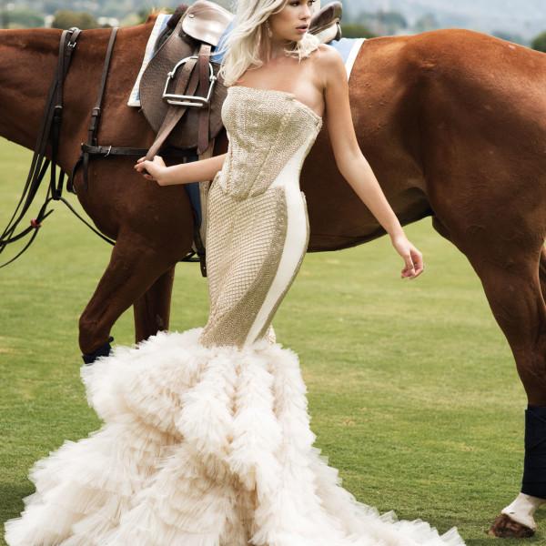 Fashion Editorial photographed at the Santa Barbara Polo Club by John Hong and Josefhaley
