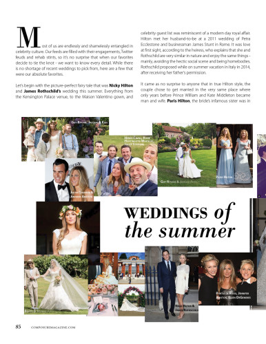 celebrity weddings of the summer