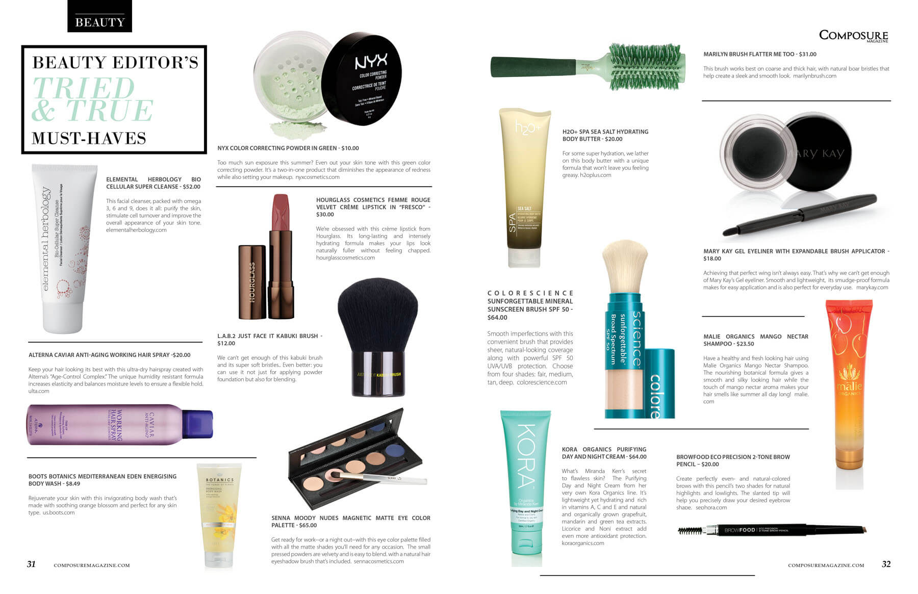 Beauty Editor's Must Haves. Beauty and skincare product reviews, advice, and tips.