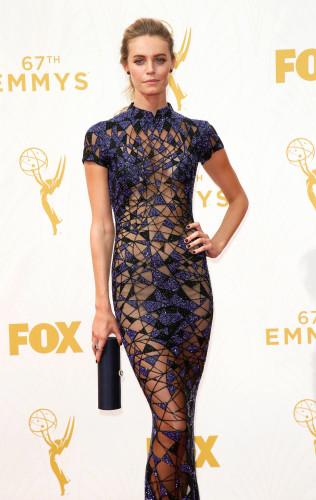 Christine Marzano 2015 Emmys red carpet