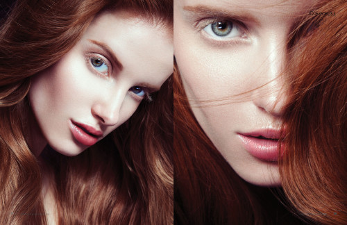 Beauty editorial by Kenny Sweeney