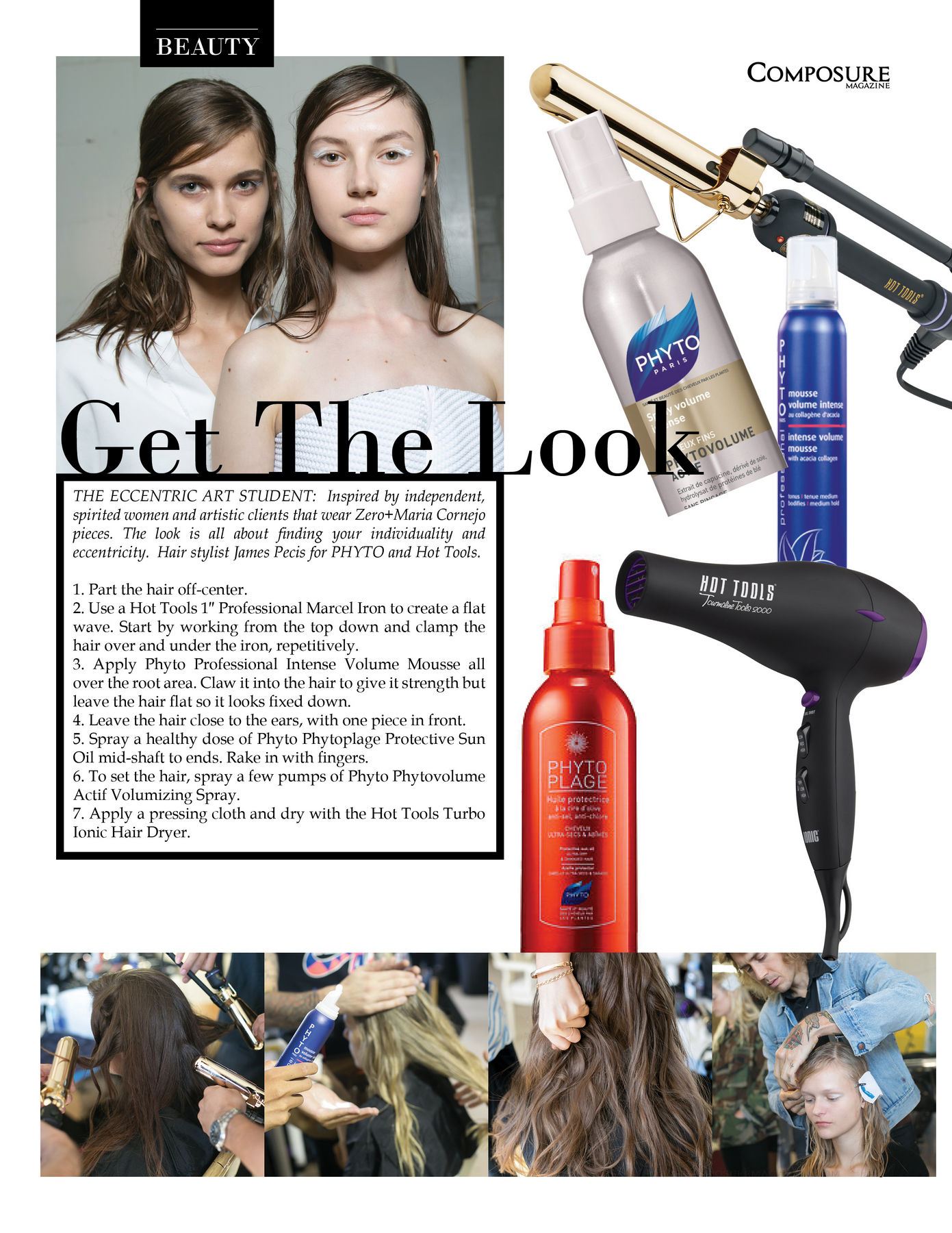 Get the look: Zero+Maria Cornejo pieces