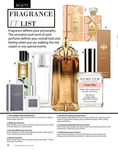 FRAGRANCE PRODUCT REVIEW BY COMPOSURE MAGAZINE