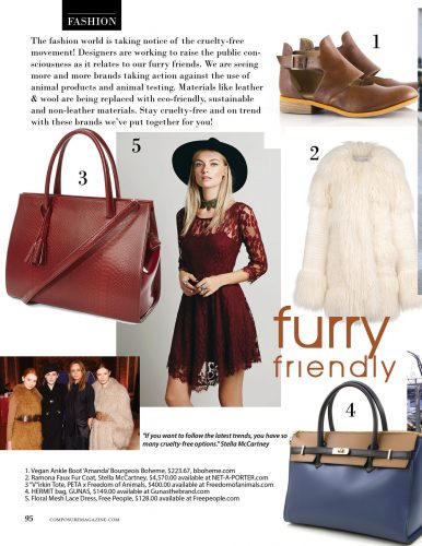 Furry Friendly: Fur in fashion