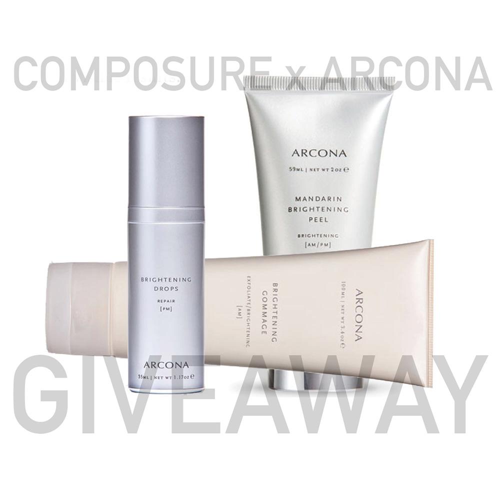 Composure Arcona giveaway