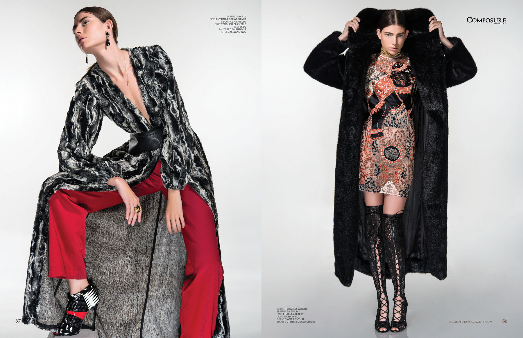 """Fashion Editorial """"Sugar Coat"""" by John Hong"""