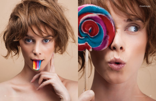 "Beauty Editorial ""Candy Crush"" by John and Jane Hong"