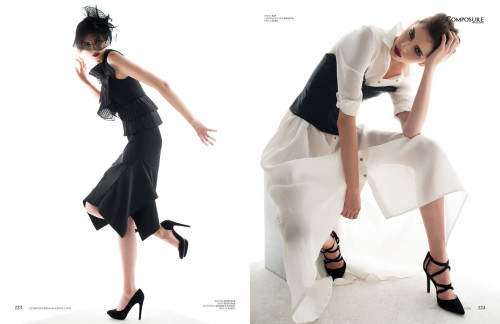 "Fashion Editorial ""Black Dahlia"" by John Hong"