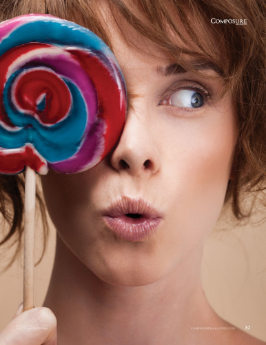 """Beauty Editorial """"Candy Crush"""" by John and Jane Hong"""