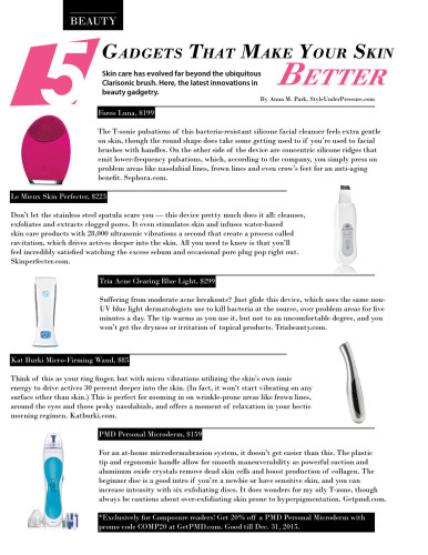 5 Gadgets That Make Your Skin Better