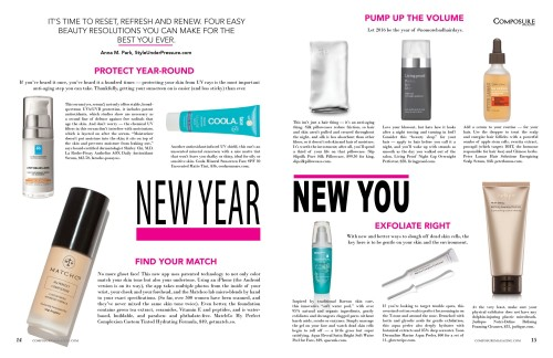 new year new you beauty resolutions for 2016 for composure magazine issue 9