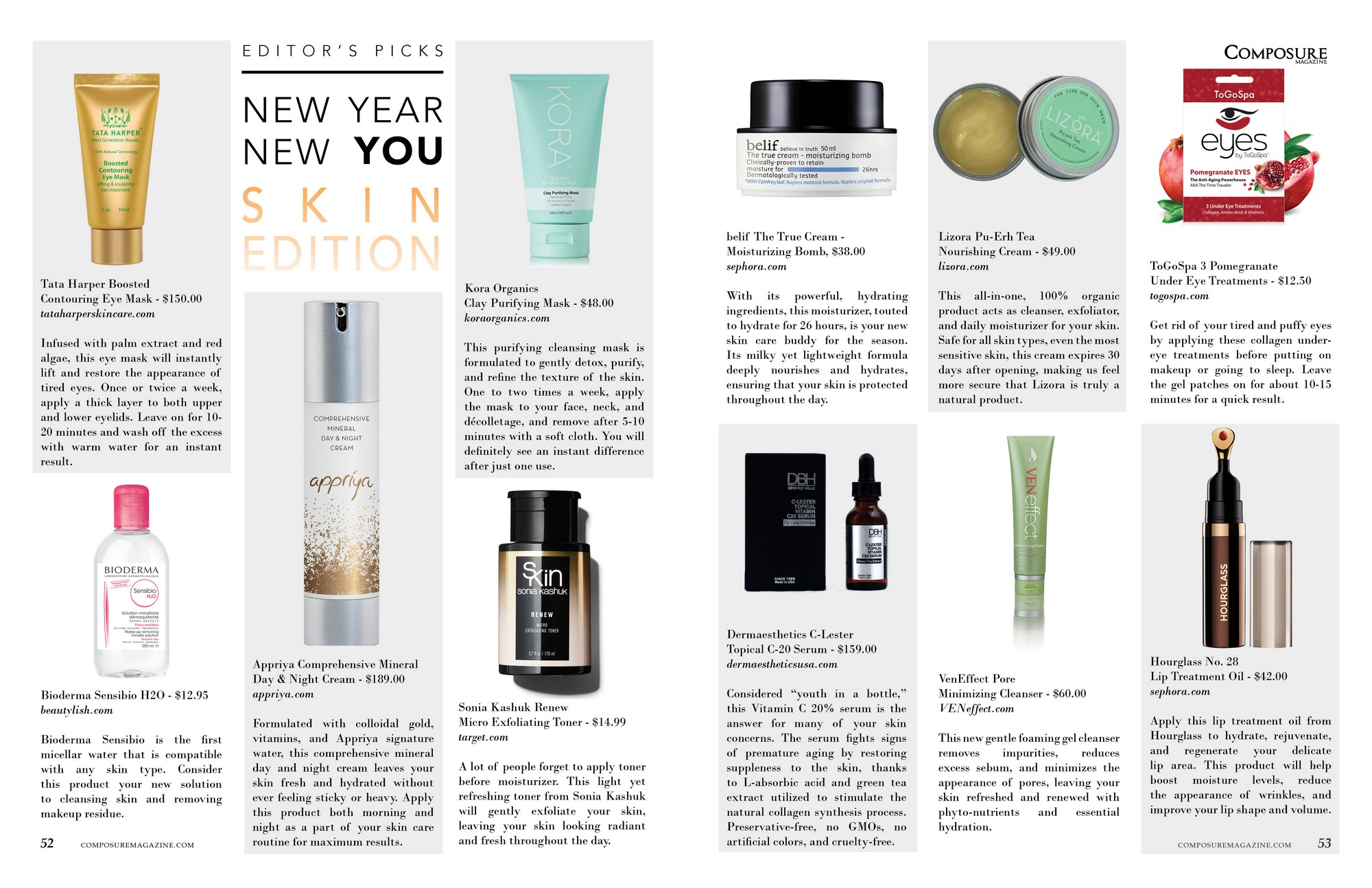 New Year New You Skin Edition