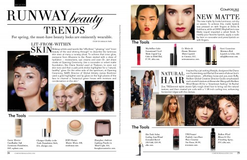 Runway Beauty Trends