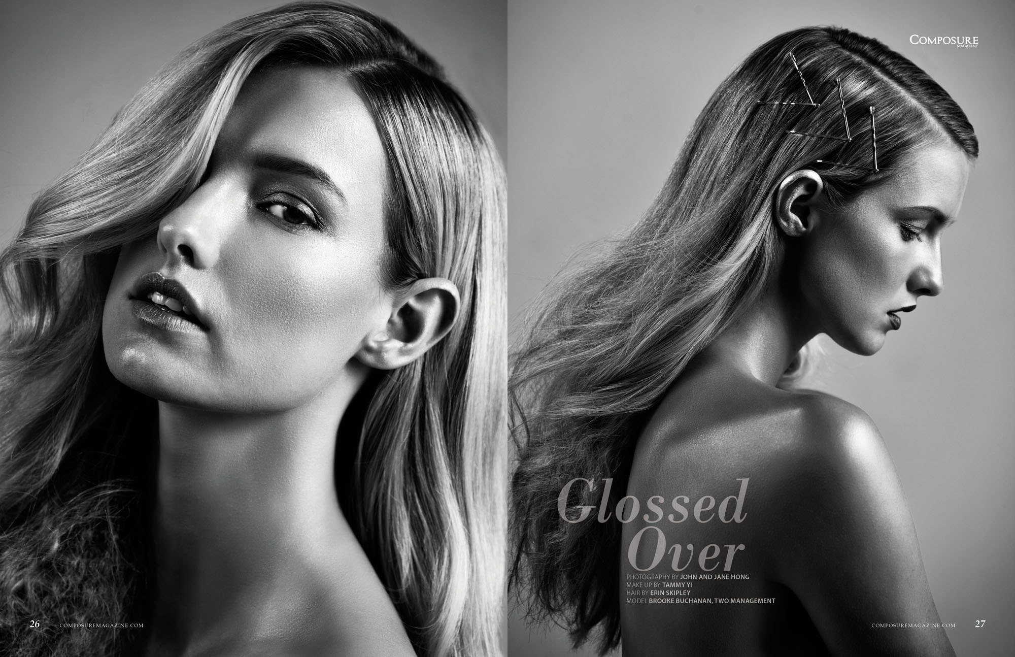 Beauty Editorial by John Hong Studio