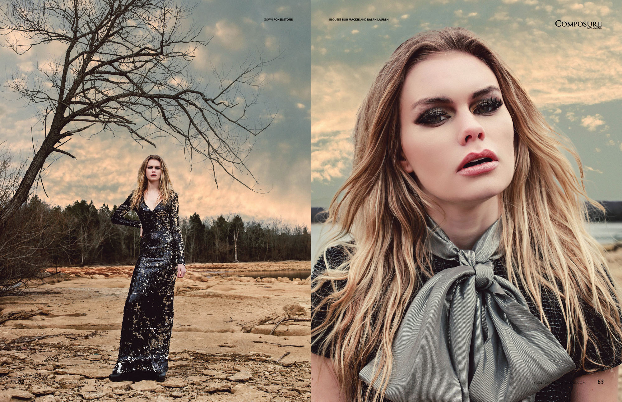 Fashion Editorial by Amy M. Phillips