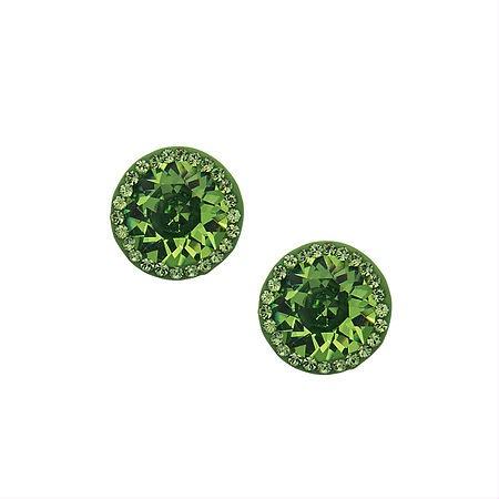 couture inspired greens st patricks day Nina x Swarovski Ingrid Earrings, $29.99, Ninashoes.com
